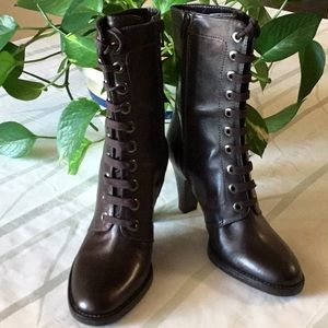 NWOB Steampunk Vintage Inspired Boots